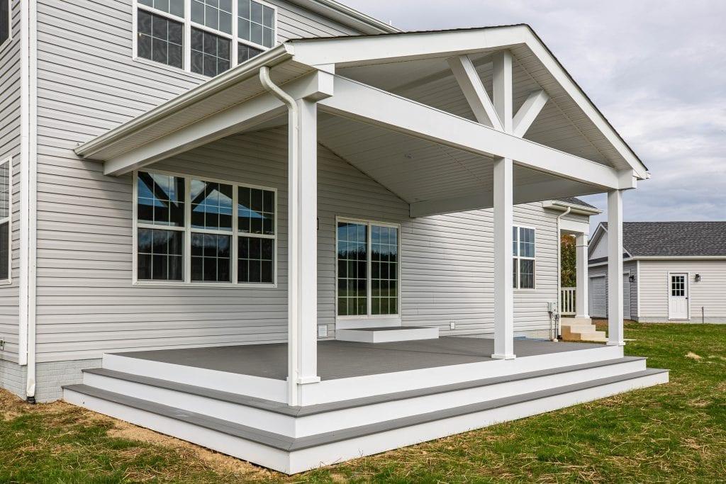 washington rear porch