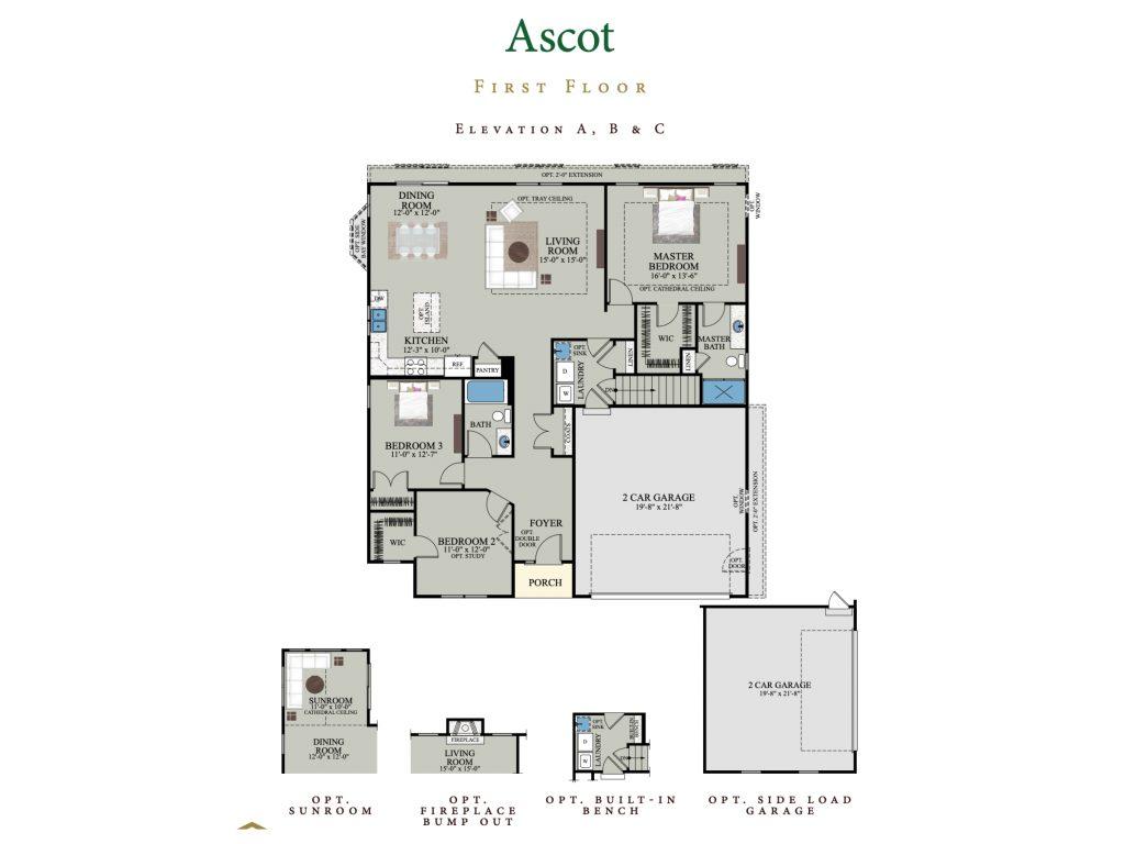 ascot first floor