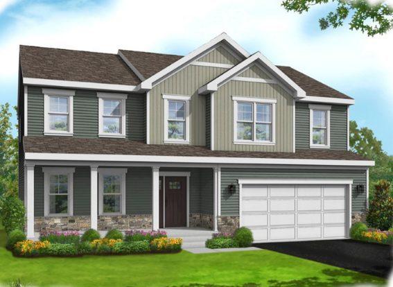 Emery home design elevation B